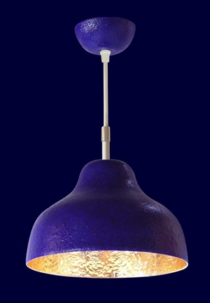 Anthroposophische Lampen 34blau